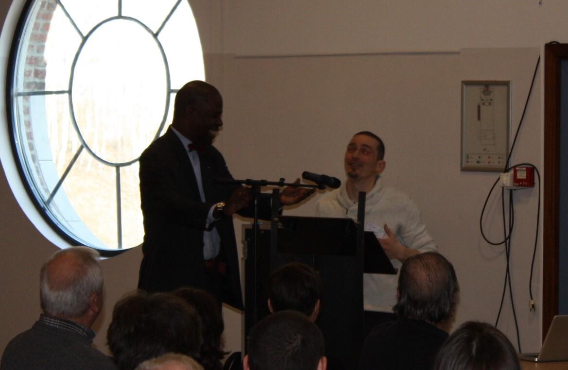 Alain EYENGA et Frédéric JOMAUX (pôle de gestion différenciée)