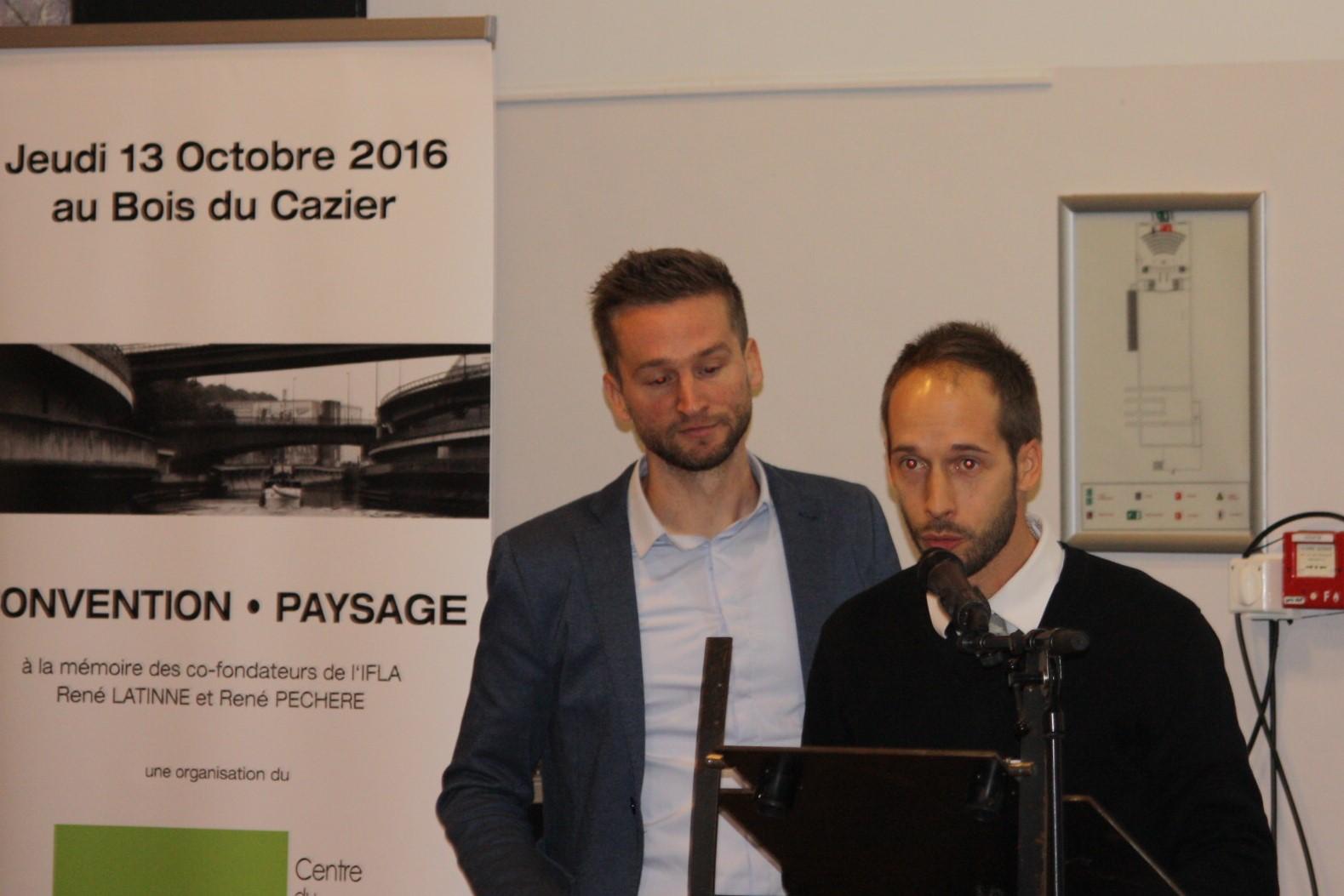 Sébastien Heuss & Gilles Saussez (Architectes Paysagistes et professeurs)
