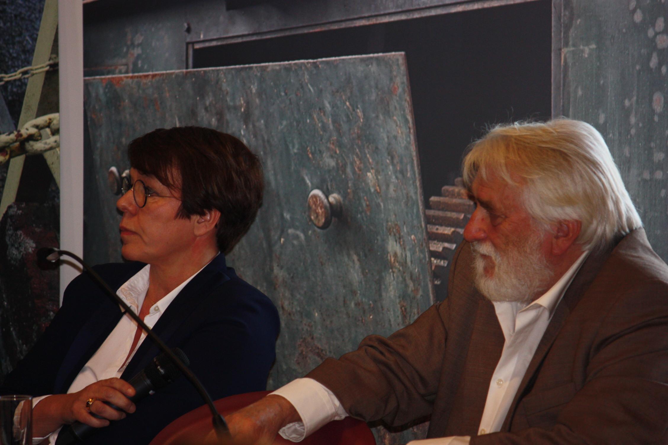 Christine Sommeillier (architecte et architecte paysagiste) et Jef De Gryse