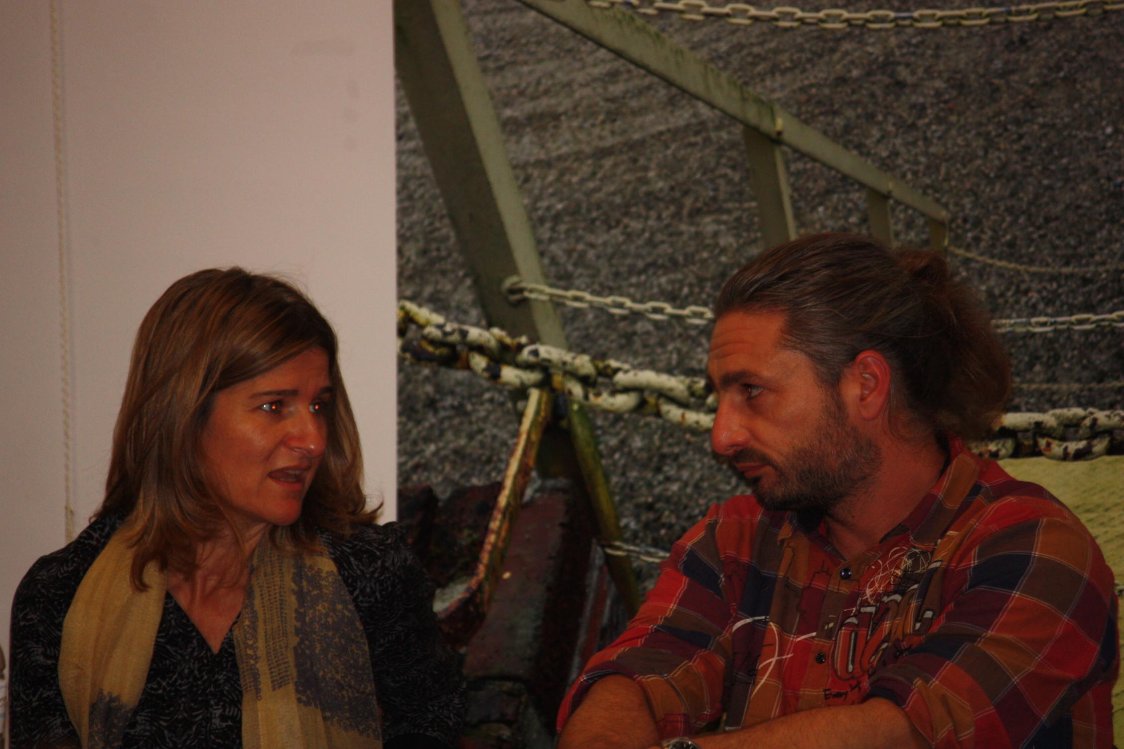 Ana Luengo (IFLA Europe) & David Roland (Centre du Paysage)