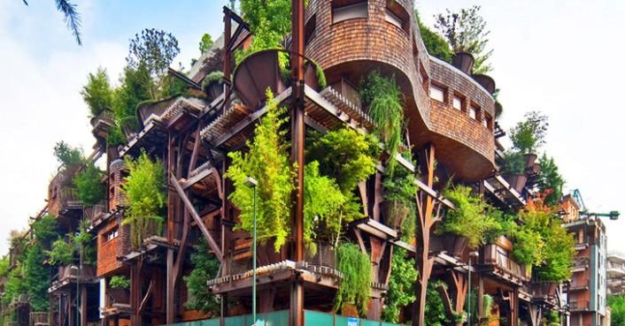 L'architecture et le végétale : une belle réalisation, un cadre de vie réussi !
