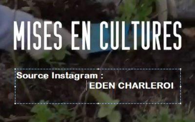 Mises en cultures par Eric Lenoir à l'EDEN Charleroi