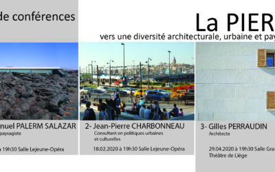 ULiège : 3 conférences sur le Paysage !
