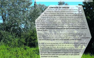 6ème rencontre  du réseau inter-friche à Charleroi